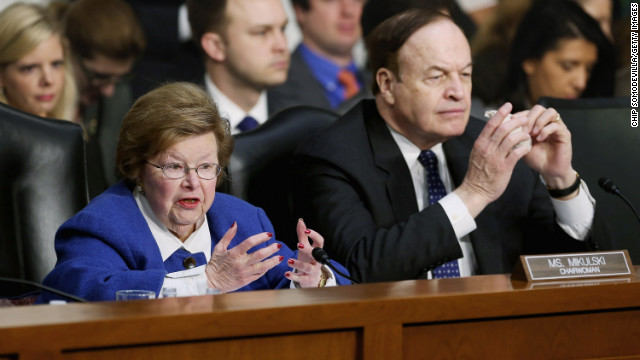 Sens. Barbara Mikulski and Richard Shelby released the Senate Appropriations Committee budget plan Monday night.