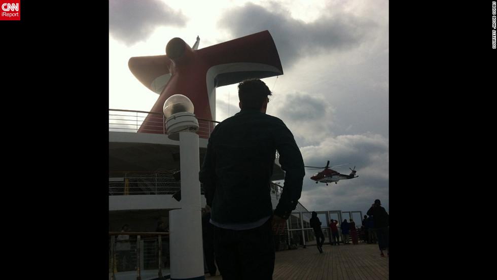 Momentos a bordo del Carnival Triumph