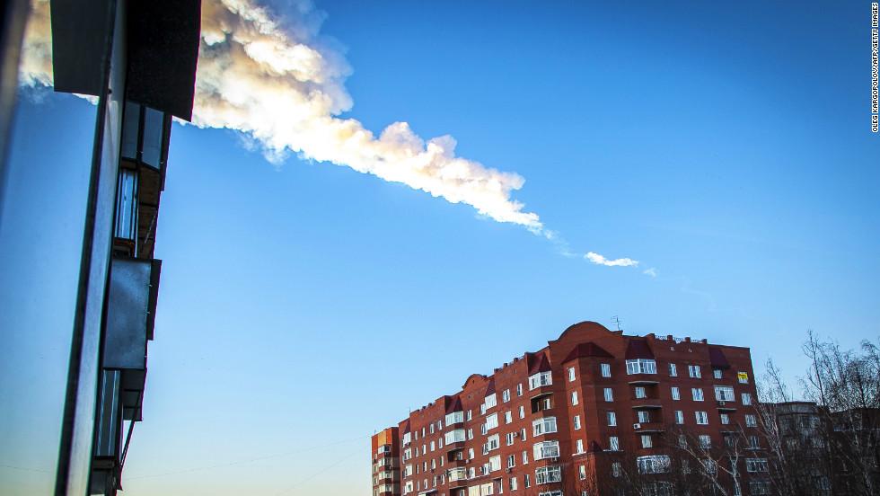 Gigantesco meteoro impacta Rusia
