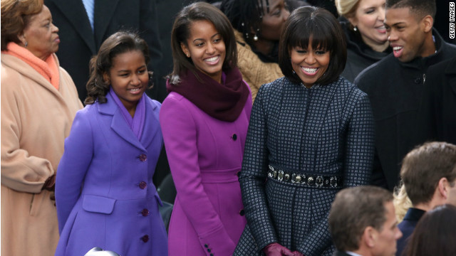Michelle Obama, daughters going skiing