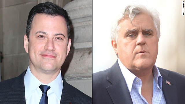 Jimmy Kimmel: Leno doesn't have 'actual feelings'