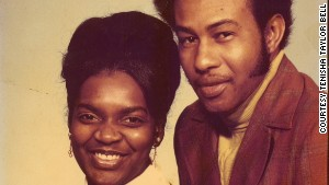 Tenisha Taylor Bell\'s mother and father, Velma and Ezekiel Taylor.