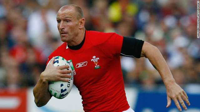 Gareth Thomas of Wales spoke about being gay to a British news channel in 2009. 