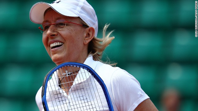 Tennis great Martina Navratilova came out in 1981.