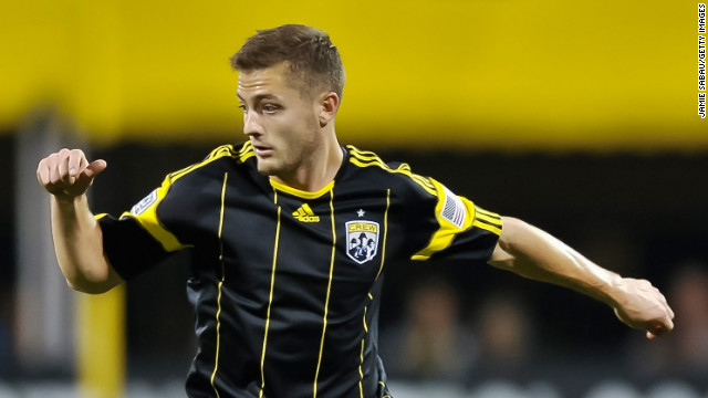 U.S. international soccer player Robbie Rogers, formerly of the Columbus Crew, announced that he was gay and retired in February.