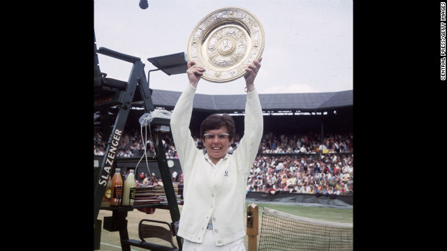 Tennis legend Billie Jean King was outed by a former female partner in 1981.