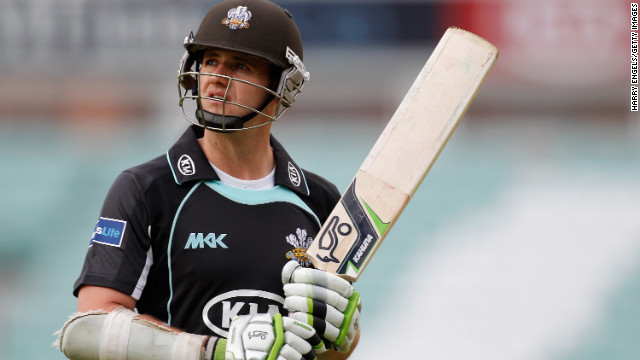 Cricketer Steven Davies, of Surrey in England, announced he was gay in 2011.
