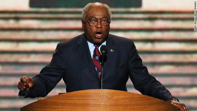 The No. 3 House Democrat Jim Clyburn reserving judgment on Syria