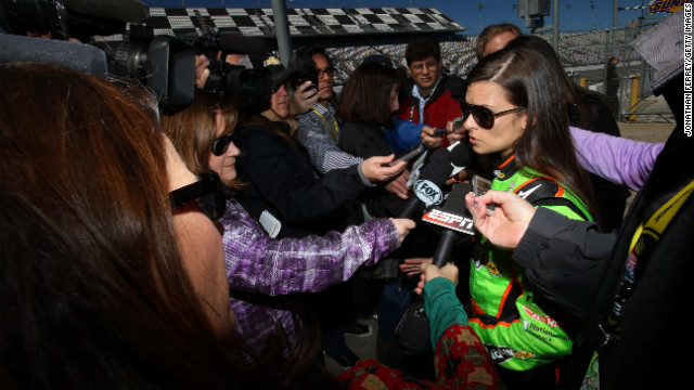 Danica Patrick to start first at Daytona
