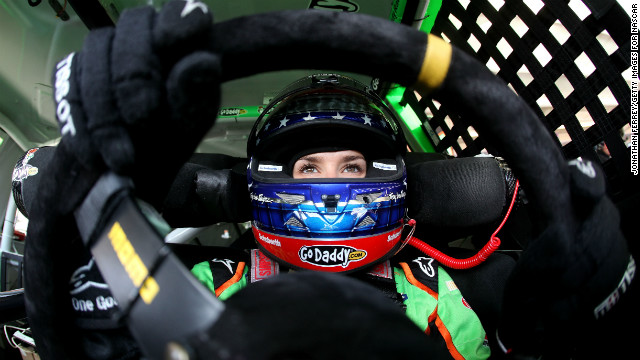 Danica Patrick has made racing history, becoming the first woman in the history of NASCAR to win the pole for any race. Here, Patrick sits in her car during practice for the AdvoCare 500 at Phoenix International Raceway in 2012 in Avondale, Arizona. This slide show looks back at Patrick's exciting career through the years.