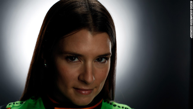 Patrick poses for a portrait during media day at Barber Motorsports Park in 2009 in Leeds, Alabama.