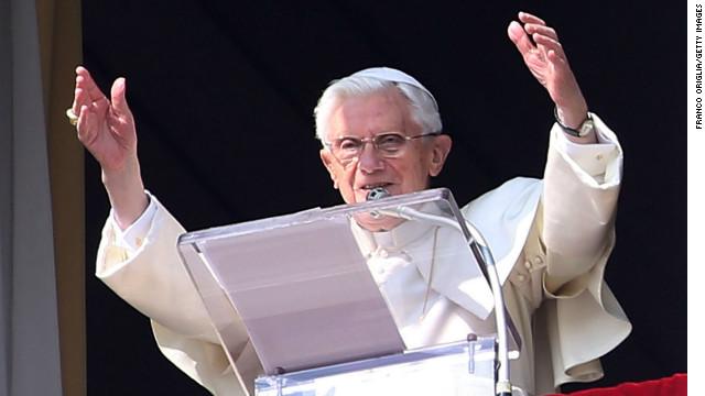 Benedicto XVI celebra su último Angelus como papa