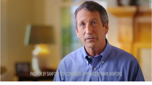 Sanford in first ad: &#039;None of us go through life without mistakes&#039;