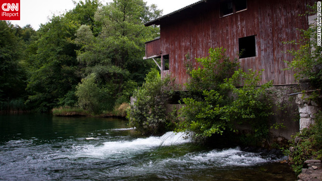 The Mreznica river, known for its many waterfalls, flows through Croatia. See more photos on <a href='http://ireport.cnn.com/docs/DOC-815390'>CNN iReport</a>.