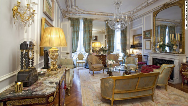 Pretend this is your place while you're in Paris. Original Louis XV and XVI antiques are part of the elegant decor in this 8th arrondissement apartment. Properties featured here are listed on &lt;a href='http://www.homeaway.com/' target='_blank'&gt;HomeAway.com&lt;/a&gt;.