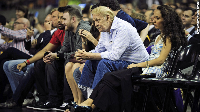 "Los Angeles Laker owner <a href='http://www.cnn.com/2013/02/18/us/california-jerry-buss-dead/index.html' target='_blank'>Jerry Buss</a> died February 18 at age 80. Buss, who had owned the Lakers since 1979, was credited with procuring the likes of Earvin ""Magic"" Johnson, James Worthy, Shaquille O'Neal and Kobe Bryant. The Lakers won 10 NBA championships and 16 Western Conference titles under Buss' ownership."