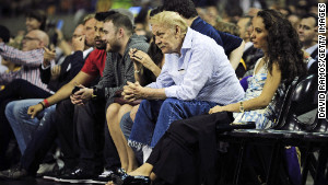 Los Angeles Lakers owner Jerry Buss
