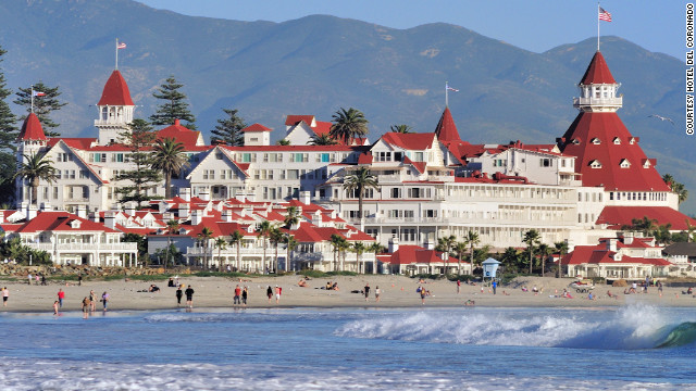  San Diego's Hotel del Coronado starred as a location for 1959's &quot;Some Like It Hot.&quot;