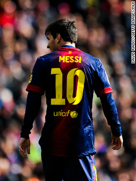 Brunel's study suggests the world's top talent, like Barcelona's record-breaking striker Lionel Messi, are able to suppress their urge to act instinctively, which makes them less likely to fall for feints or tricks.