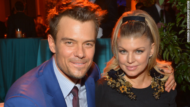 Fergie, Josh Duhamel expecting first child