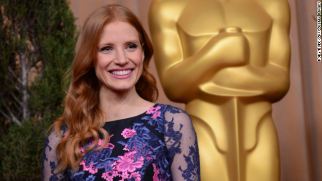 Her role as Maya in &quot;Zero Dark Thirty&quot; (2012) earned Chastain a best actress nod. She has since appeared in the horror flick &quot;Mama,&quot; which hit theaters in January. Here she attends an academy luncheon for nominees in February.