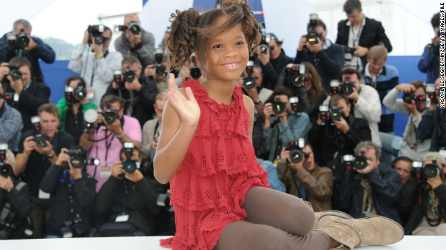 Quvenzhane Wallis, here at the 2012 Cannes Film Festival, shot to stardom with her role as Hushpuppy in Benh Zeitlin's &quot;Beasts of the Southern Wild.&quot;