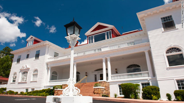 "The Stanley Hotel in Estes Park, Colorado, is not featured in ""The Shining,"" but a stay at the haunted hotel helped inspire King's novel."