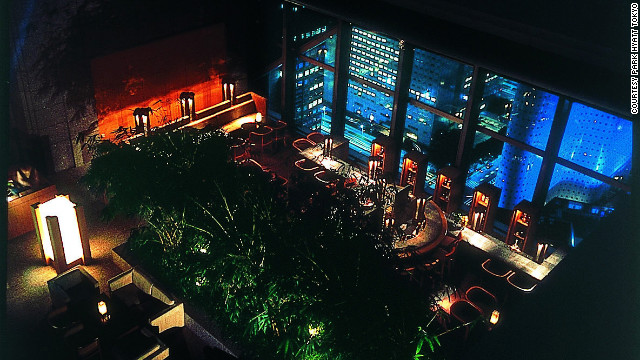 "The sleek Park Hyatt Tokyo is a quiet refuge in Tokyo's vibrant Shinjuku area for the characters in ""Lost in Translation."""