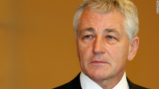 Hagel letter disavows alleged old comments on Israel