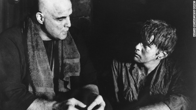"""Apocalypse Now"" achieved instant acclaim upon its release in 1979, but one of the film's stars, Martin Sheen, right, with Marlon Brando, was not nominated for his role as Capt. Benjamin L. Willard. The horror.<!-- --> </br>"