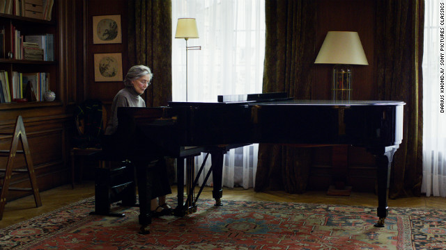 Another Best Picture contender, &quot;Amour,&quot; is set inside a Paris apartment.