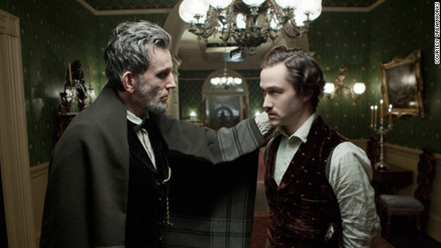 "The Steven Spielberg historical drama ""Lincoln"" looks at the 16th president in the days leading up to the passing of the 13th Amendment banning slavery."