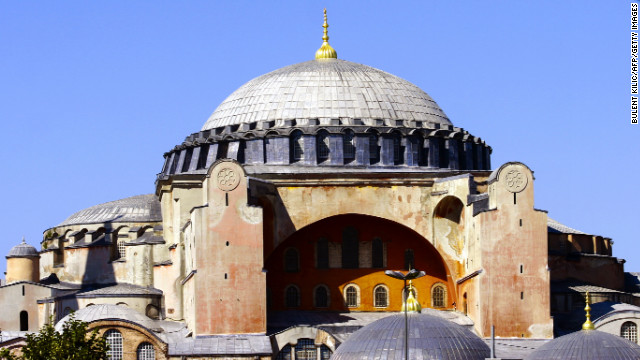 The Hagia Sophia is a sixth-century Byzantine church that was converted to a mosque under the Ottoman Empire and now operates as a museum. In &quot;Argo,&quot; Affleck plays a CIA operative who meets a contact inside the historic building.
