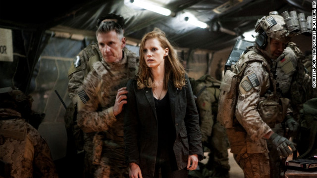 """Zero Dark Thirty,"" tracing the hunt for Osama bin Laden, is set largely in Pakistan and Afghanistan. There are U.S. State Department travel warnings for those countries right now, and many of the film's Pakistan scenes were shot in India."