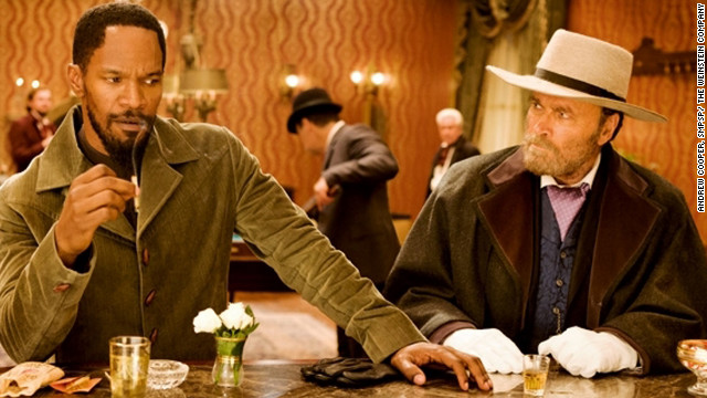 Much of Quentin Tarantino's &quot;Django Unchained,&quot; starring Jamie Foxx, left, was filmed in the Louisiana town of Edgard.