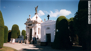 Punta Arenas Cemetery, Chile: resting place for many of Chile\'s wealthy. 