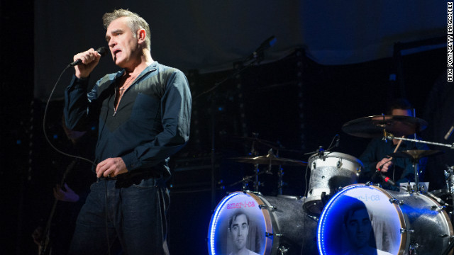 Morrissey's L.A. concert will be strictly vegetarian