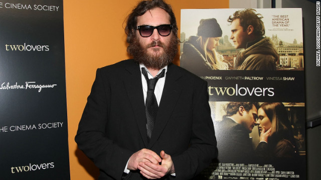 "The actor, 38, shown here in his <a href='http://marquee.blogs.cnn.com/2010/08/17/joaquin-phoenix-im-still-here-trailer-hits-web' target='_blank'>""I'm Still Here""</a> phase attending a screening of ""Two Lovers"" in 2009, earned his second Academy Award nomination for his portrayal of Johnny Cash in 2005's ""Walk the Line."""