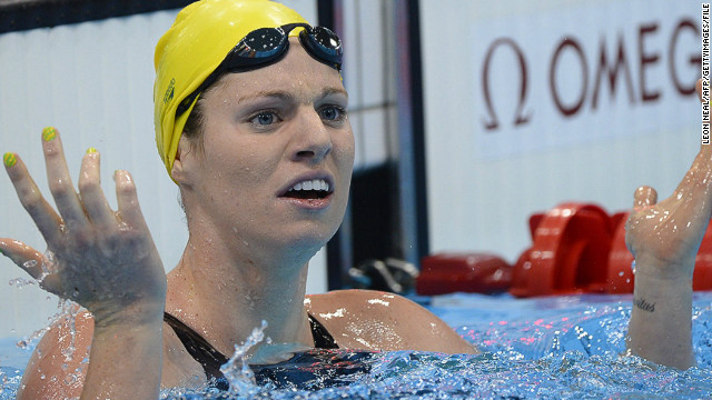 Emily Seebohm blamed her overuse of social networking website Twitter for her failure to win Olympic gold at London 2012 as the favorite in the women's 100m backstroke, where she finished second.
