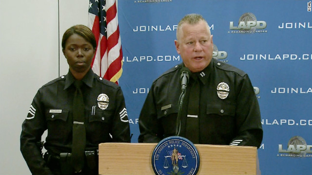 Phil and Emada Tingirides, a captain and sergeant in the LAPD, were named as targets during former LAPD officer's rampage.