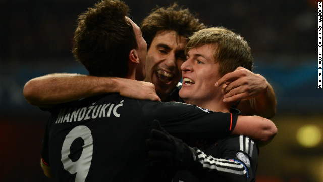 Bayern beat Arsenal in Champions League