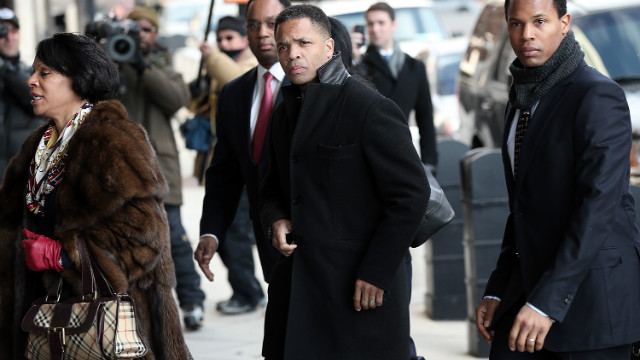 Jesse Jackson Jr. pleads guilty to misusing campaign funds