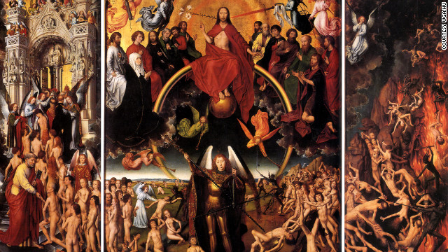 In 1473, Hans Memling's &quot;The Last Judgment&quot; was stolen by pirates and became the first documented art theft.
