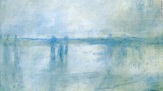 "Seven famous paintings were stolen from the Kunsthal Museum in Rotterdam, The Netherlands, in 2012, including Claude Monet's ""Charing Cross Bridge, London."""