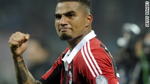 Boateng explains Milan protest