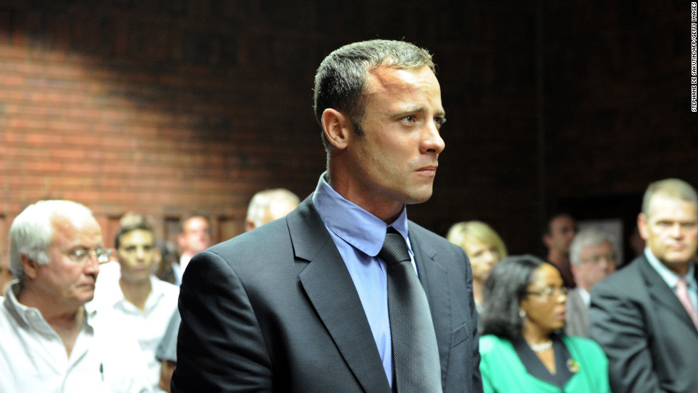&lt;a href='http://www.cnn.com/2013/02/19/world/africa/south-africa-pistorius-case/index.html'&gt;Oscar &quot;Bladerunner&quot; Pistorius&lt;/a&gt; has been charged with the murder of his girlfriend, Reeva Steenkamp, who was found shot dead in his home on February 13. Pistorius was the first disabled person to compete in the able-bodied Olympics and ran for the South African team. Here's a look at other pro athletes who have been charged with murder. Some have been able to create new lives in the free world. Some are incarcerated.