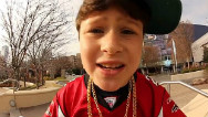 Rapping bar mitzvah boy: oy, oy, oy