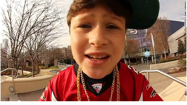 Before he's a man, bar mitzvah boy goes viral