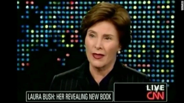 Group switches ad after Laura Bush's request