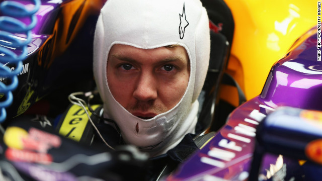 Red Bull driver Sebastian Vettel is the youngest triple world champion in Formula One history.